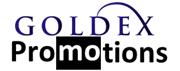 GOLDEX promotions Logo